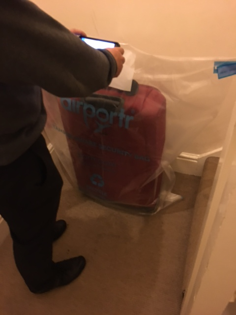 airportr bag pick up