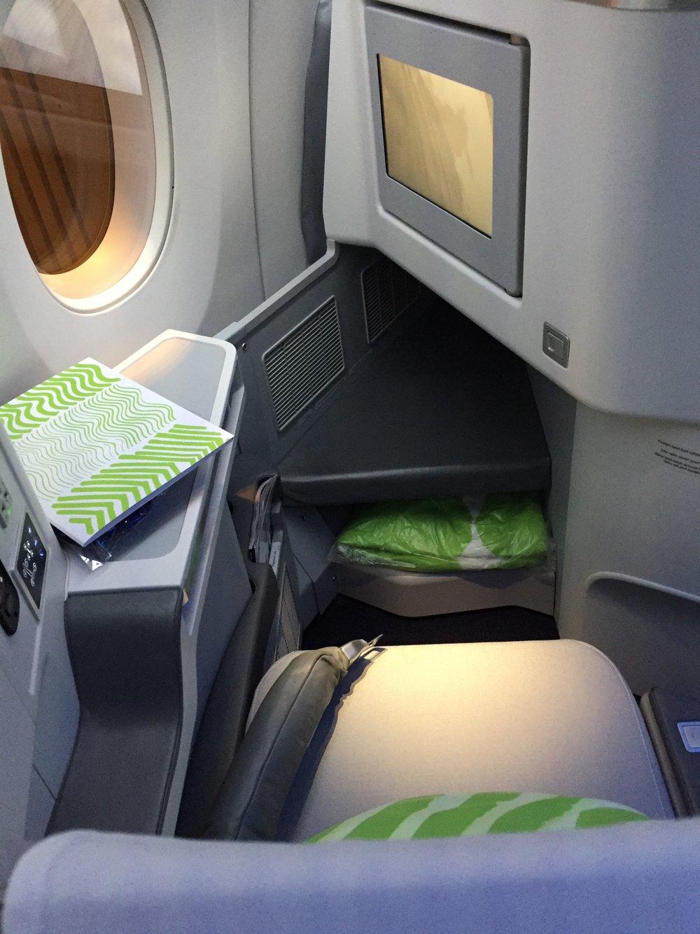 Finnair business class seat.JPG