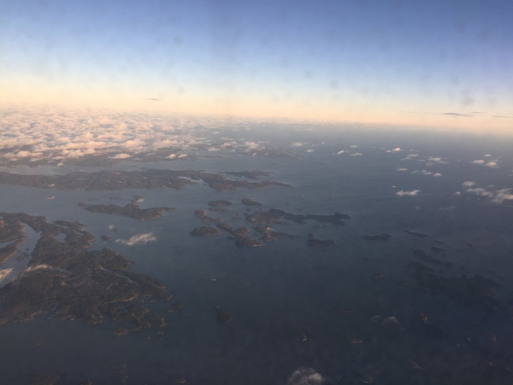 "In addition to great views, most landings at Helsinki airport are ""green landings"""