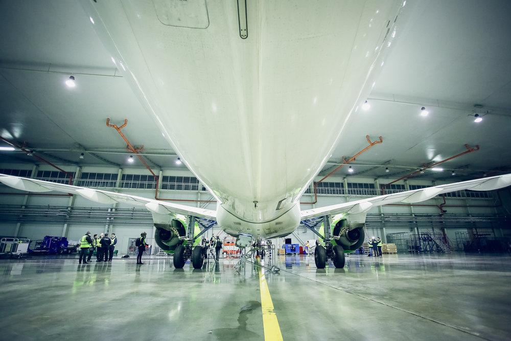 CS300 MRO hangar
