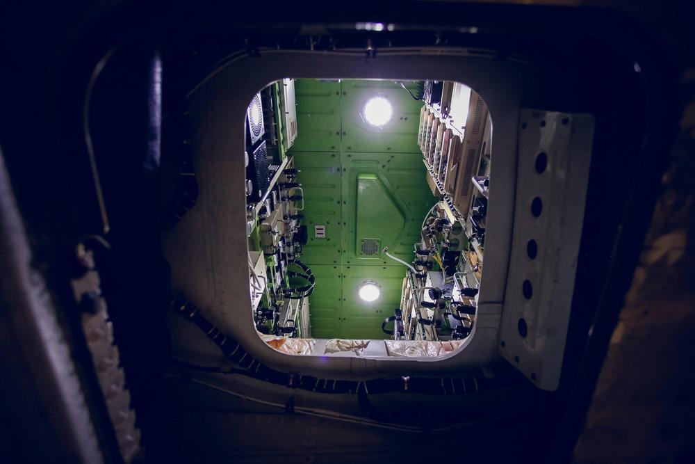 CS300 interior