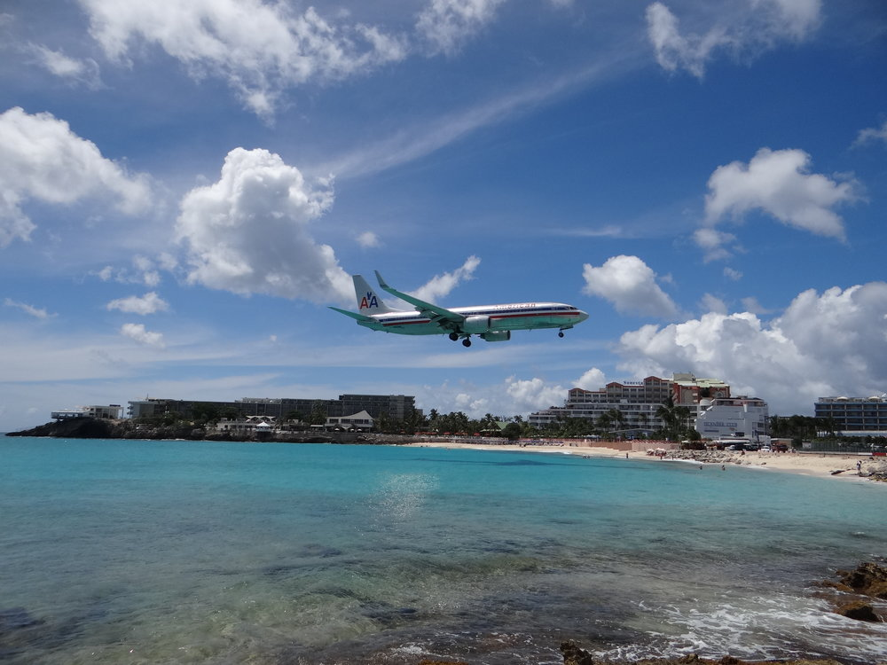 Princess Juliana Airport in Sint Maarten (SXM) is a regular of any list of most beautiful airport approaches