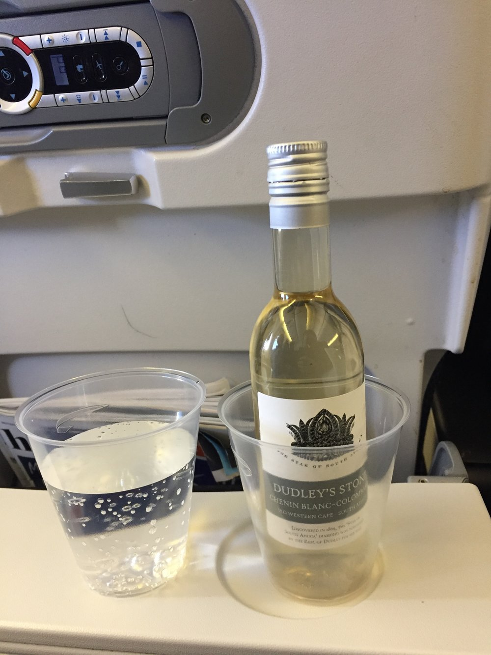 Luckily this flight had managed to preserve the complimentary food and drink service. However, although free, this was perhaps the weakest point of the whole experience, nothing to write home about