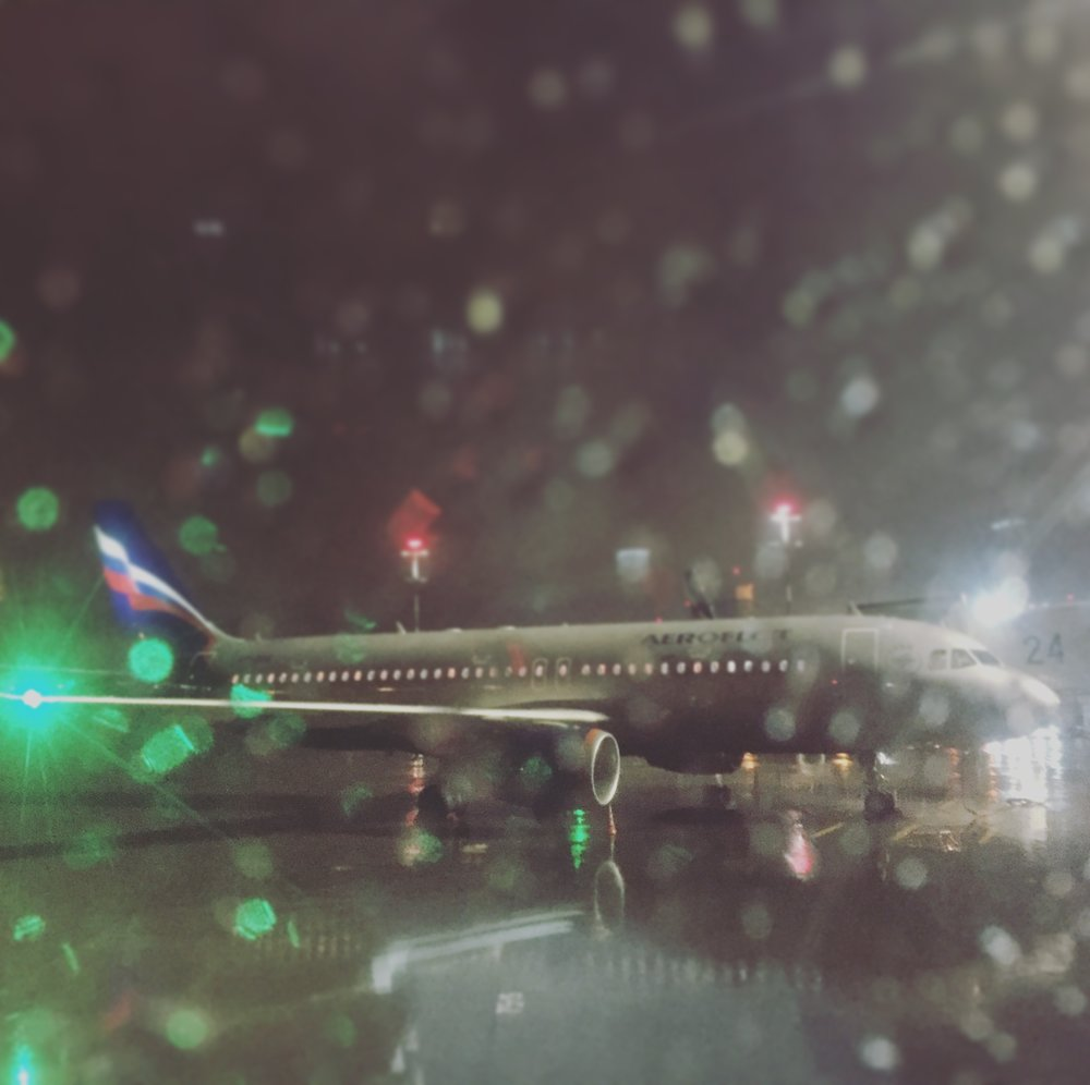 Back in Moscow to a rainy welcome!