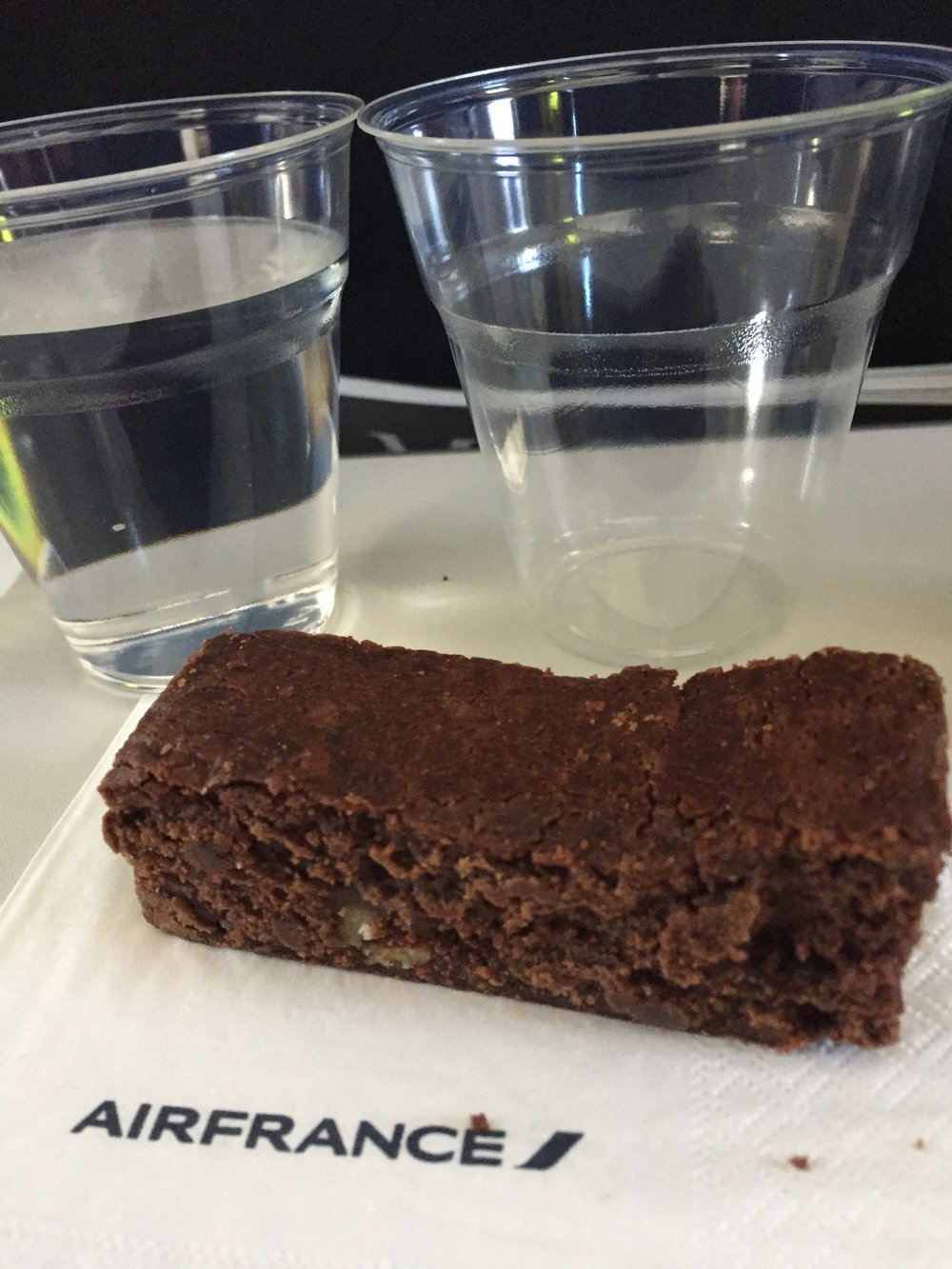 Best brownie I have ever eaten on a plane!