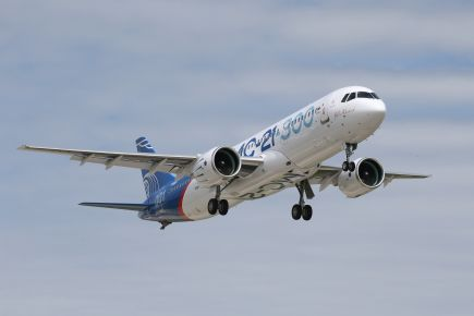 MC-21 first flight