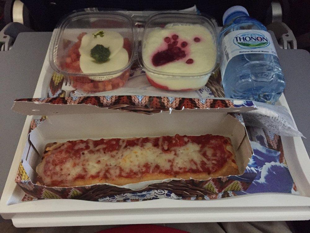 klm onboard dinner.JPG