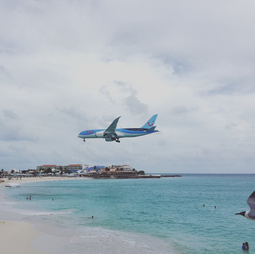 The Conference takes place within sight of the famous Maho Beach approach
