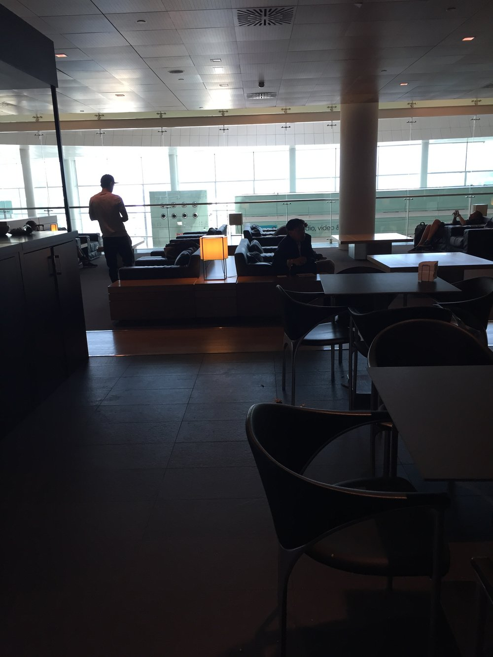 Barcelona airport lounge.JPG