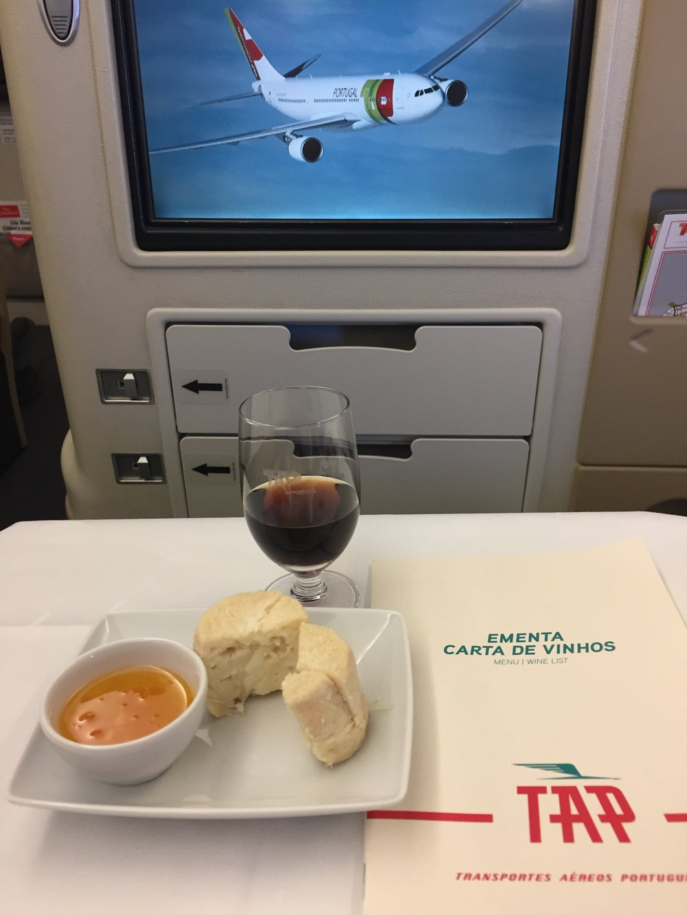 TAP inflight wine business class.JPG