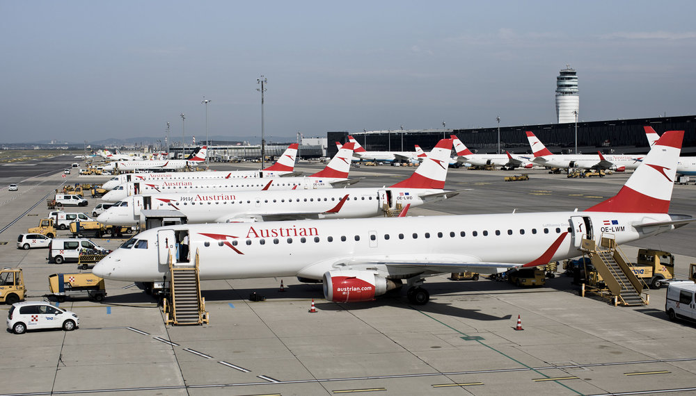 austrian embraers e-jets