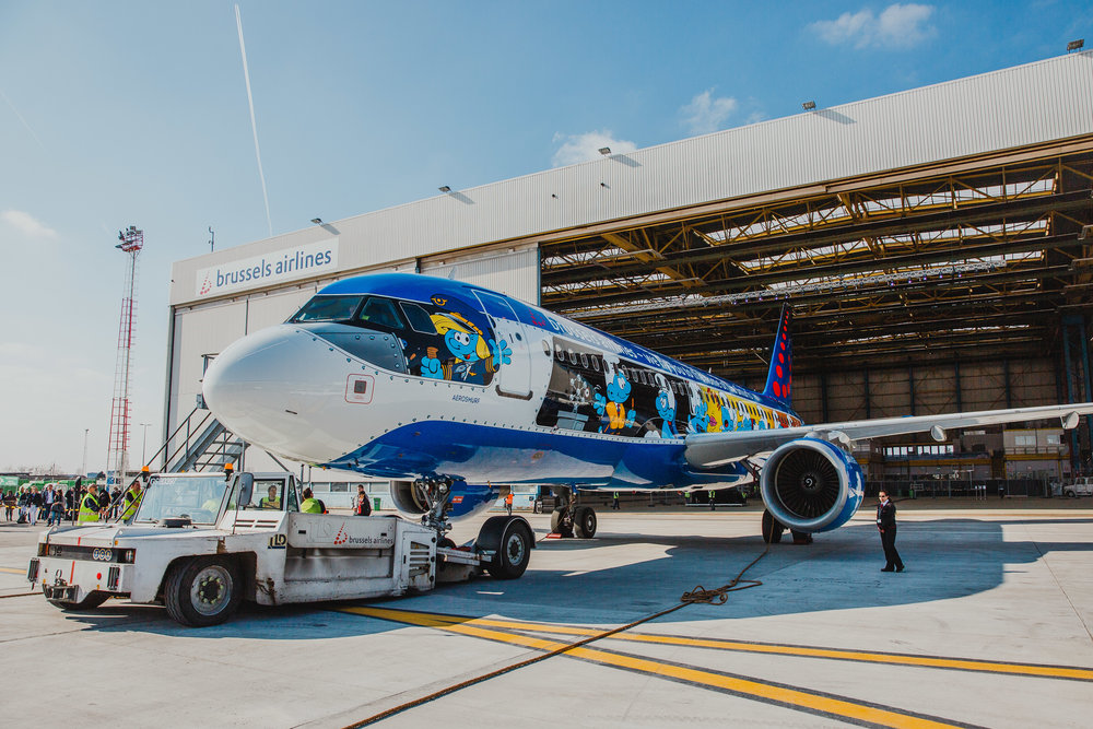 Pictures: Brussels Airlines
