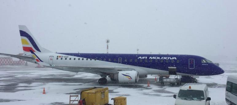 Air Moldova aircraft