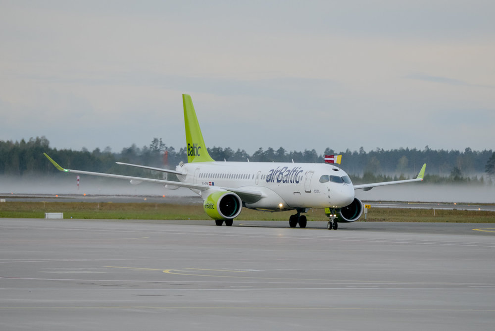 Pictures: airBaltic