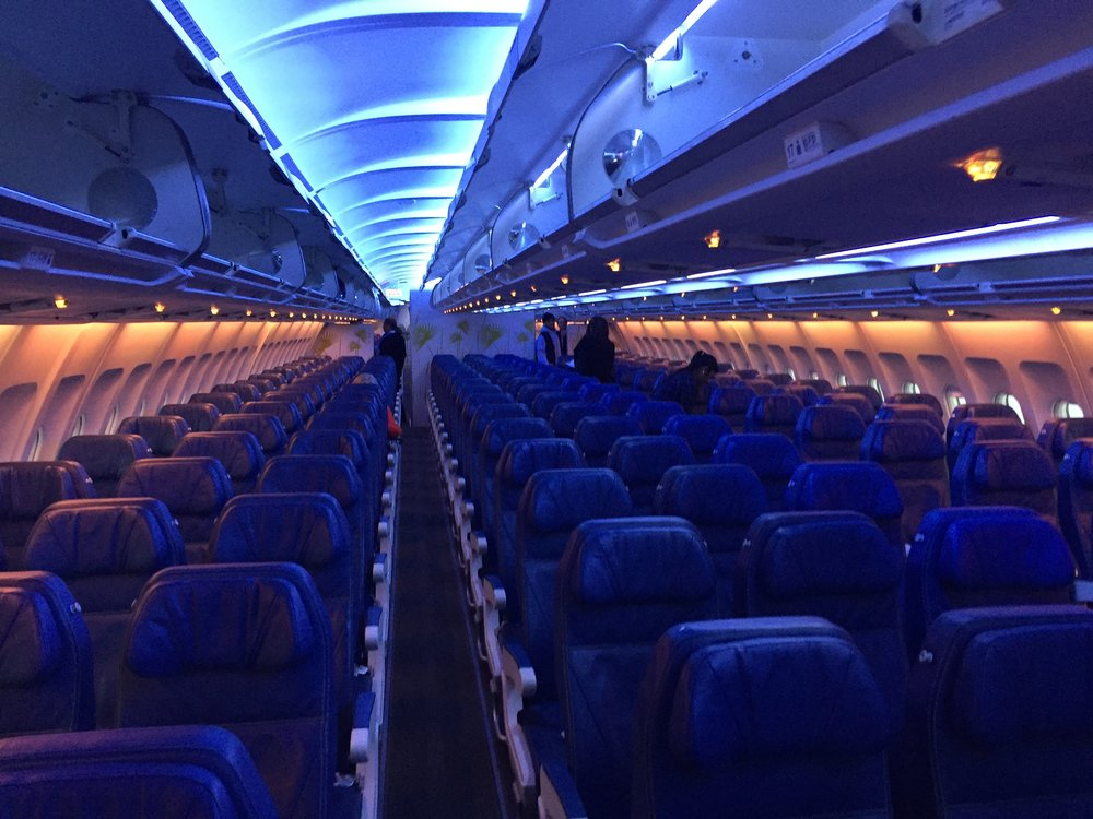 Flight Review Air Transat Airbus A330 Economy Class Allplane