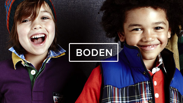 Mini Boden's new autumn collection >