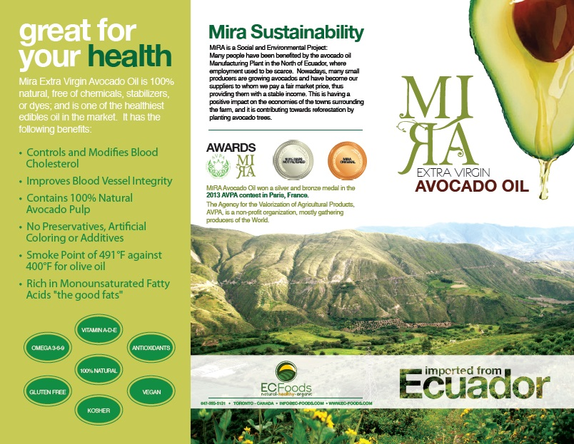 Brochure MIRA Avocado Oil (PART 1)