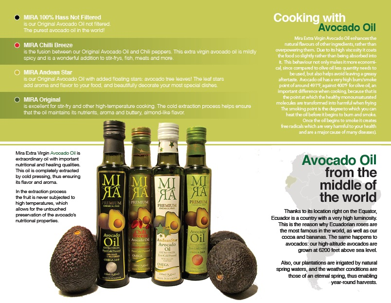 Brochure MIRA Avocado Oil (PART2)