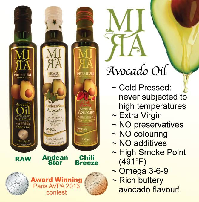 MIRA Gourmet Avocado Oils