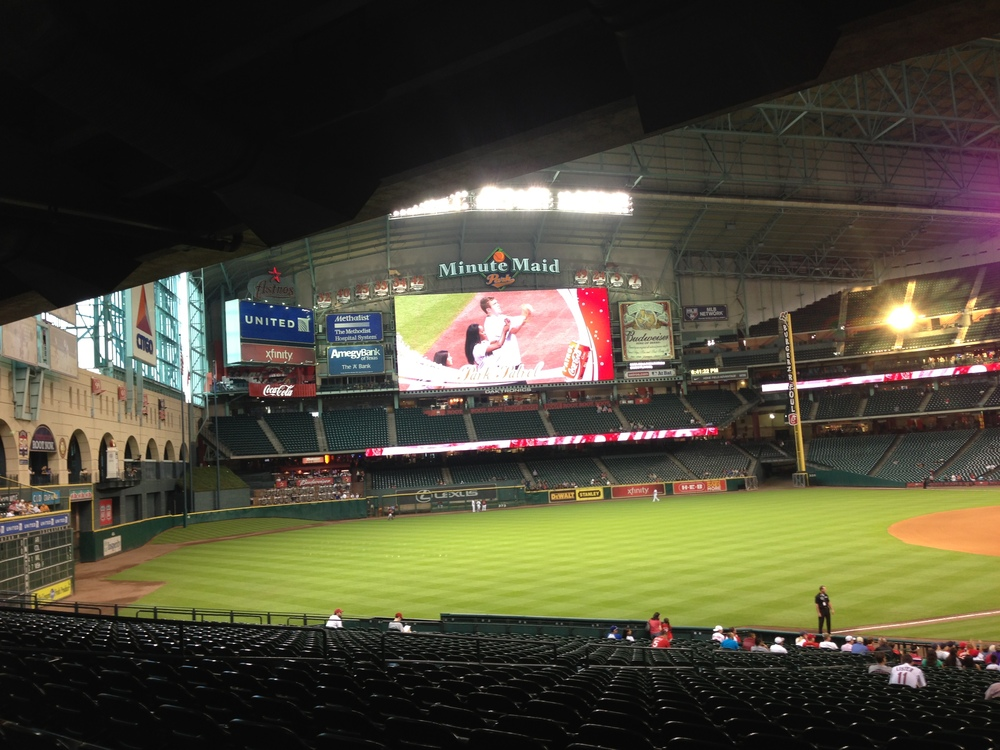 Birthdays, Beaches, and Baseball-Birthday Weekend in Houston