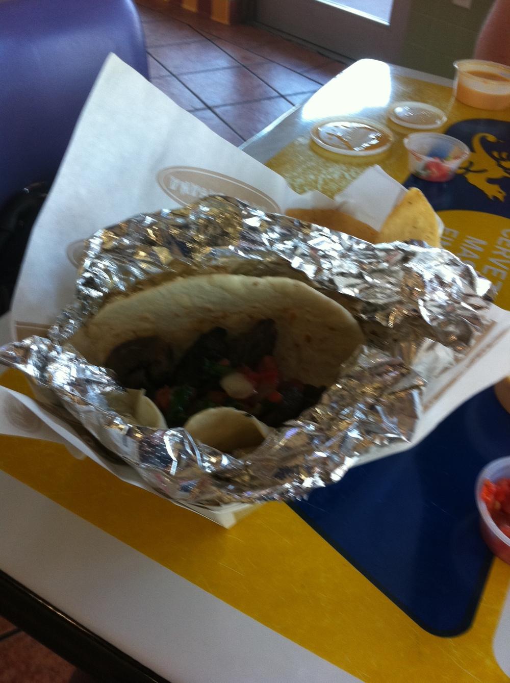 At the Taco, Taco Cabana