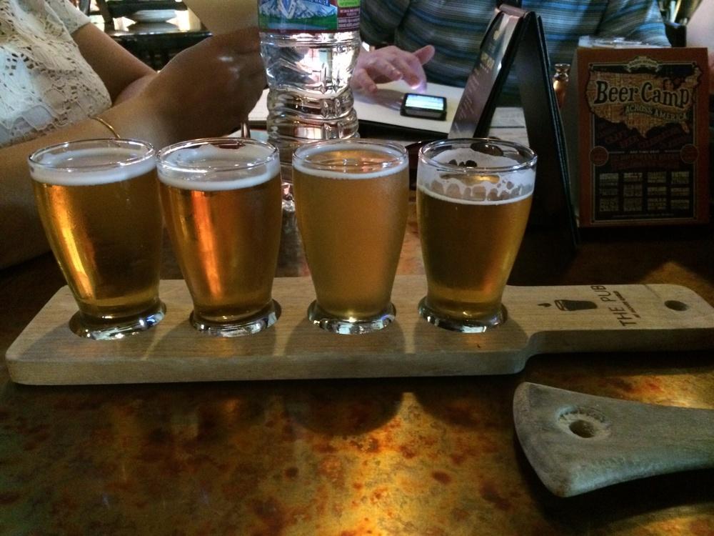 Beer Sampler at The Pub