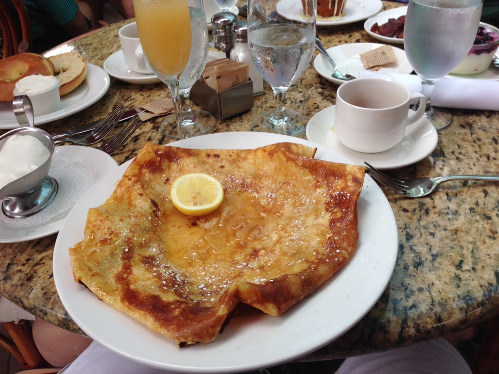 Lemon Skinny Pancake