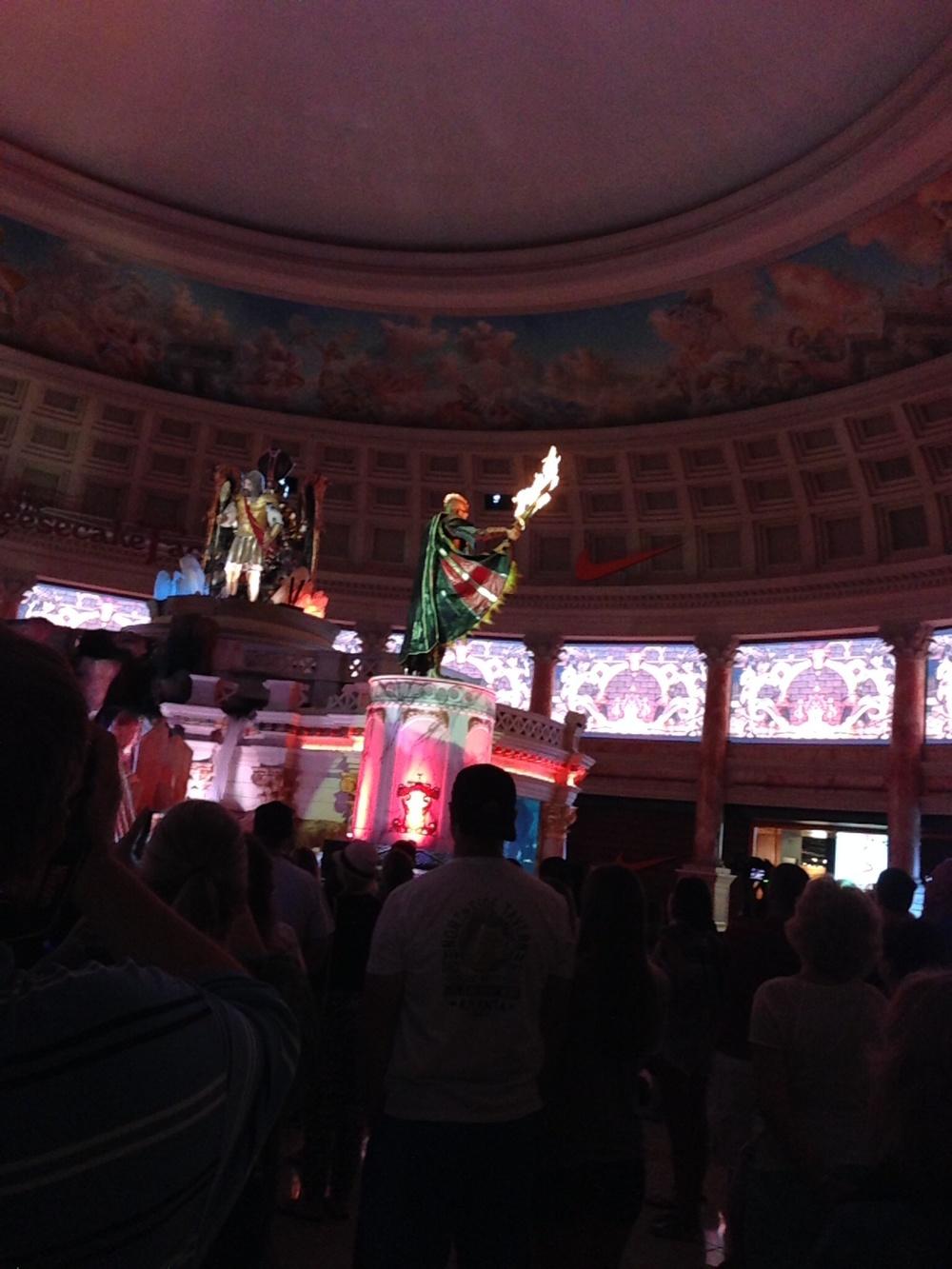 Statue Show at Caesar's