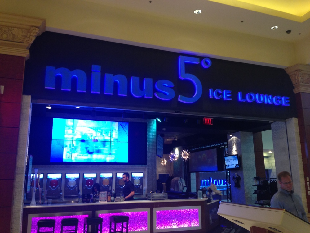 Minus5 Ice Bar at Mandalay Bay