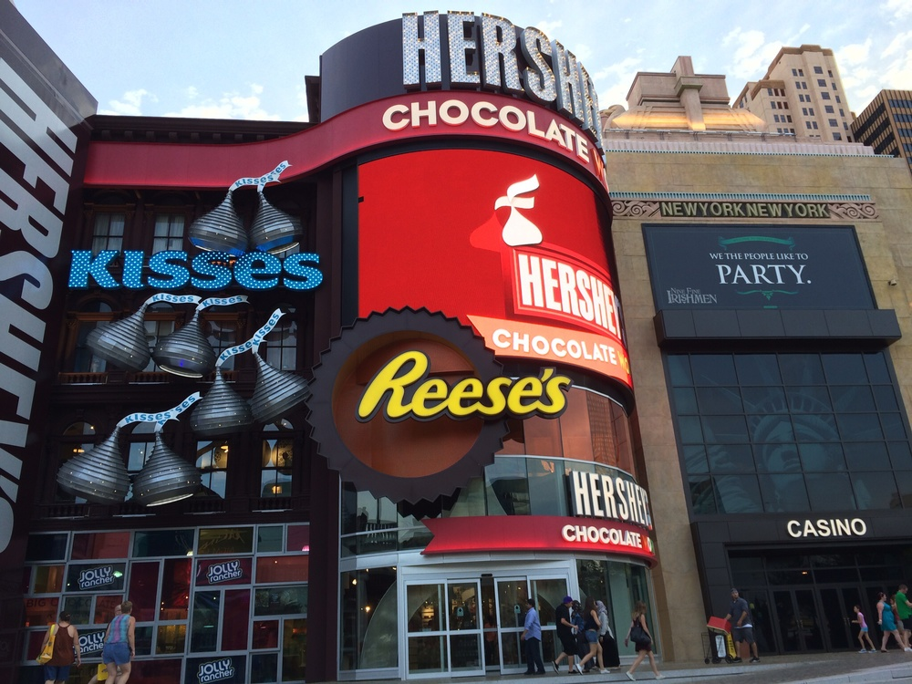 Hershey's Store at NY, NY