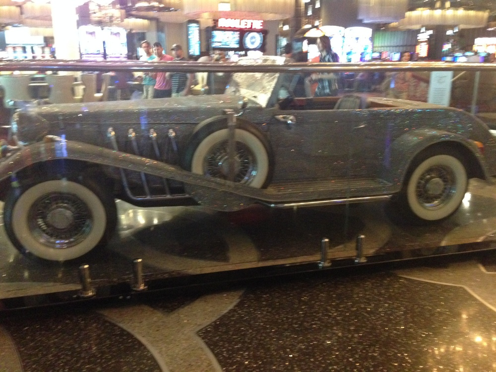 Crystal Covered Car at The Cosmopolitan