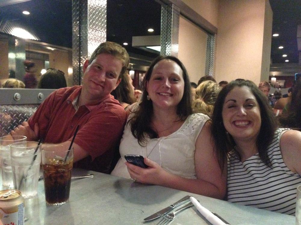 Dustin, Lisa, me