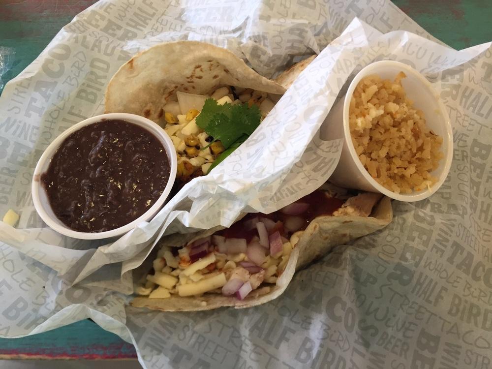 Yardbird and Mightybird tacos
