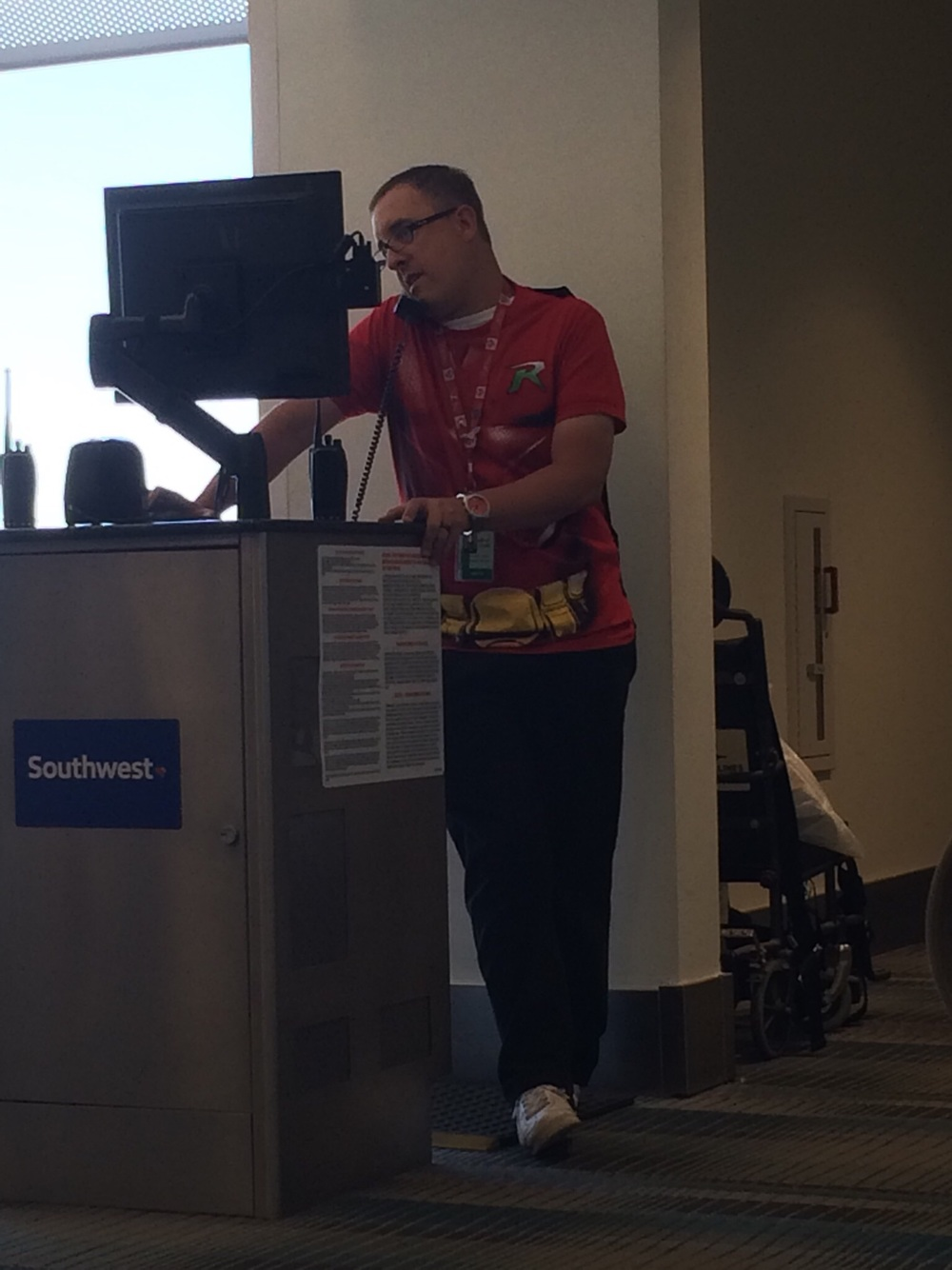 Superheroes of Southwest Airlines