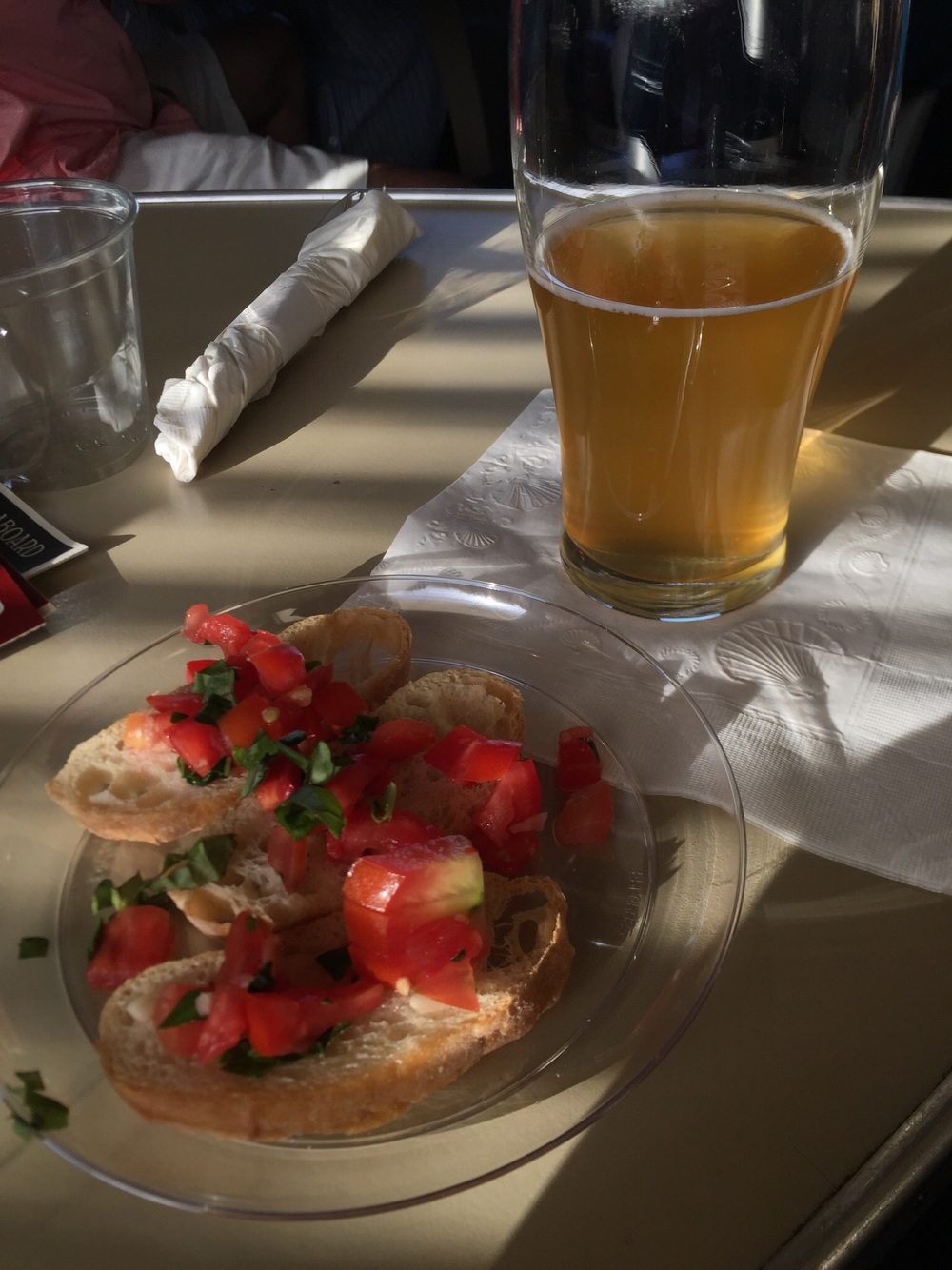 Hefeweizen and Bruschetta