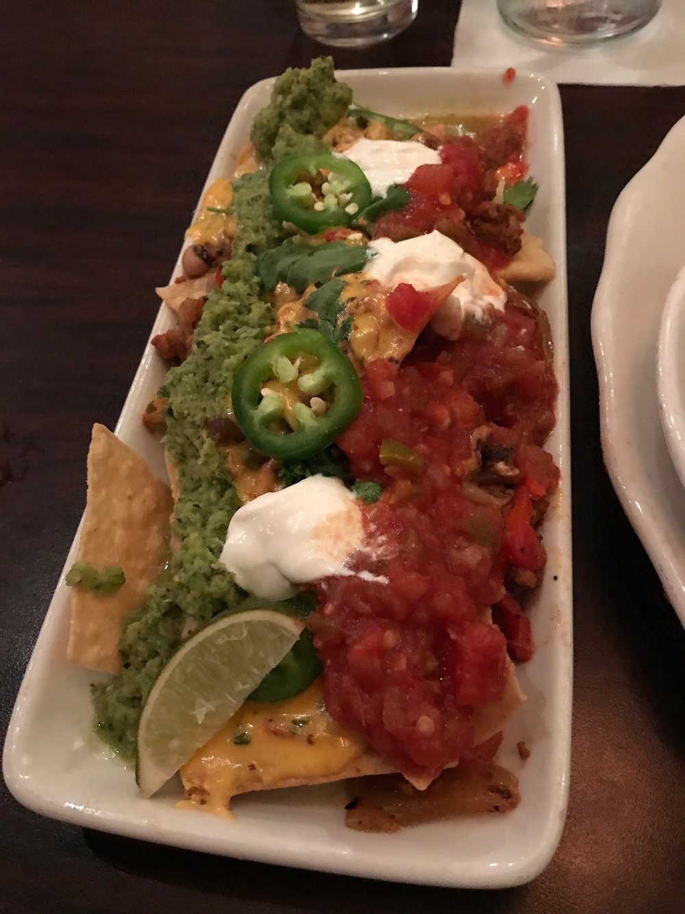 Nachos at Tupelo Honey