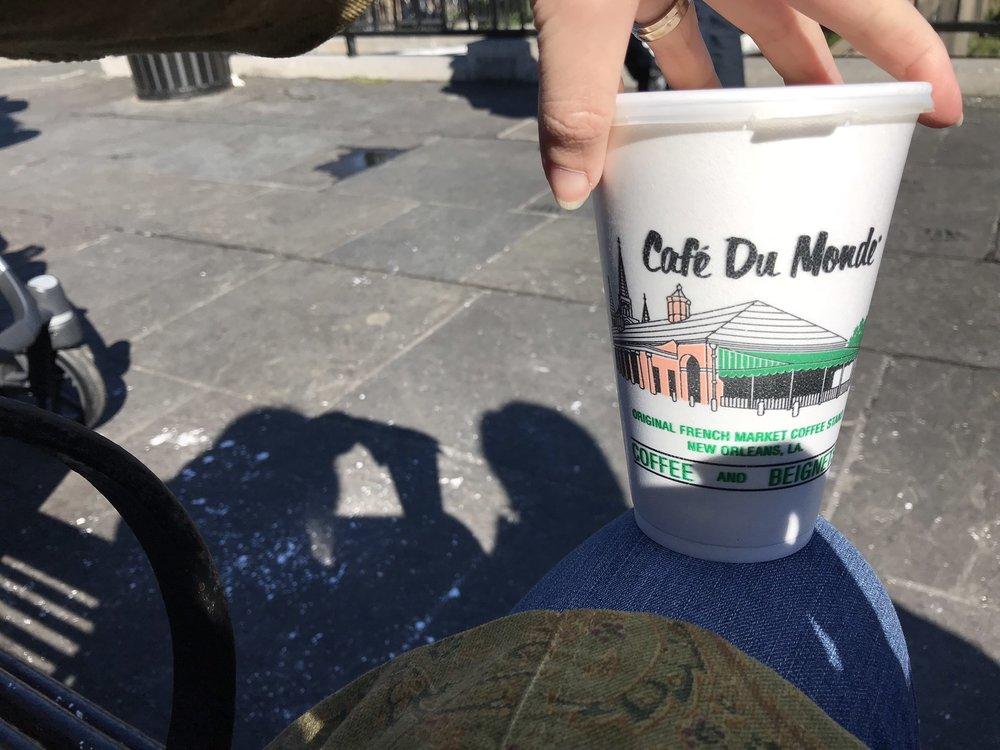 Cafe au Lait from Cafe du Monde