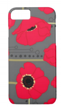 iPhone Poppy Case This is my best-seller. It's available in all iPhone sizes. People seem to like it.
