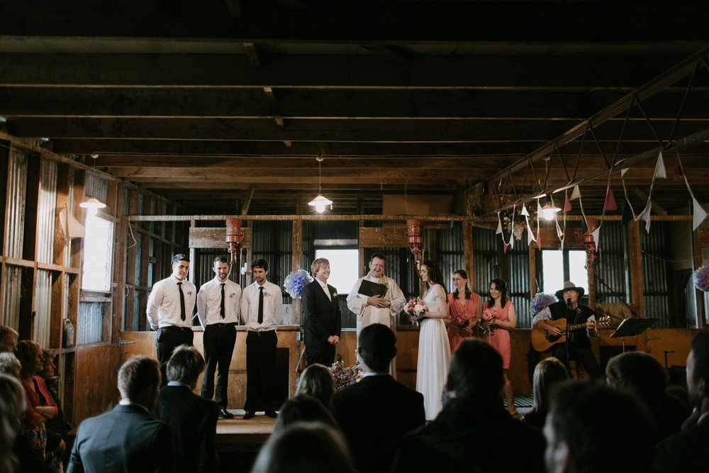 NEW ZEALAND SHEEP FARM WEDDING