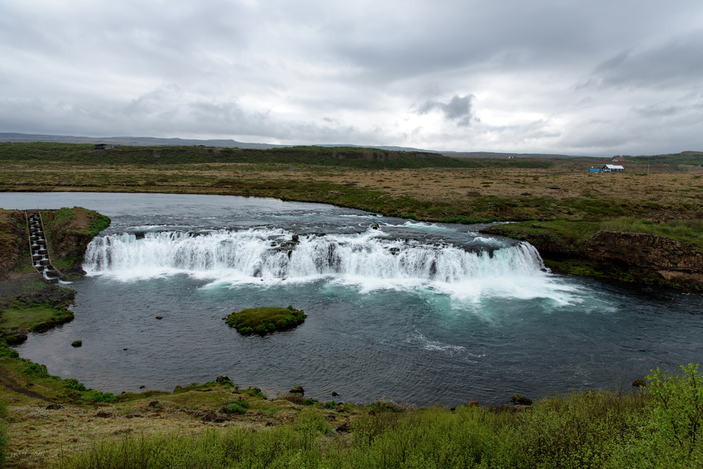 Faxafoss Waterfall (Golden Circle Tour).