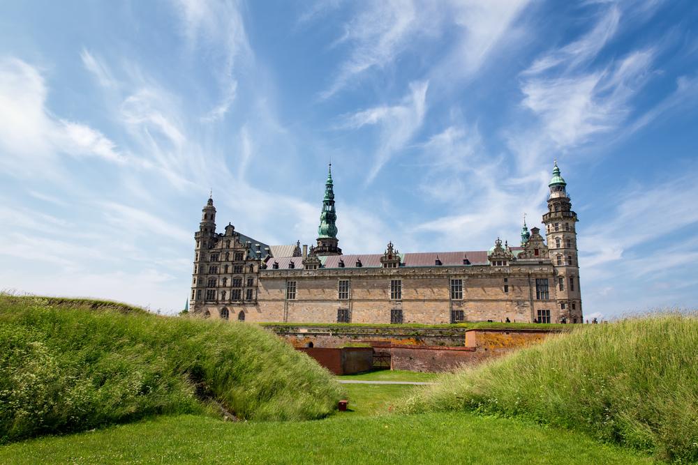Krongborg Castle (Helsingør, Denmark).