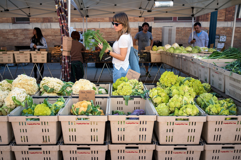 Santa Monica Farmers Market is a favorite among local chefs.