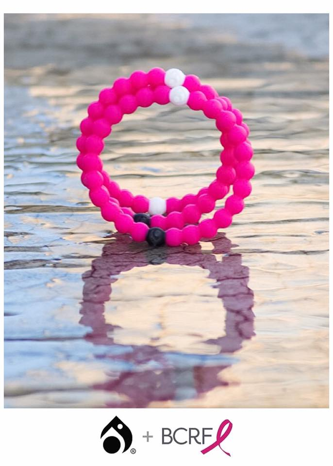 Pink Lokai Now Available! A portion of all sales are donated to the Breast Cancer Research Foundation! #livelokai Grab yours before they are gone!