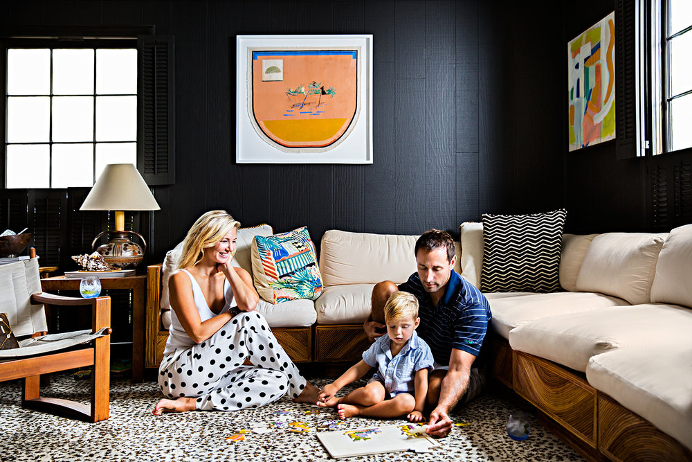 Sally King Benedict with George and River Read | Beautiful Southern Homes