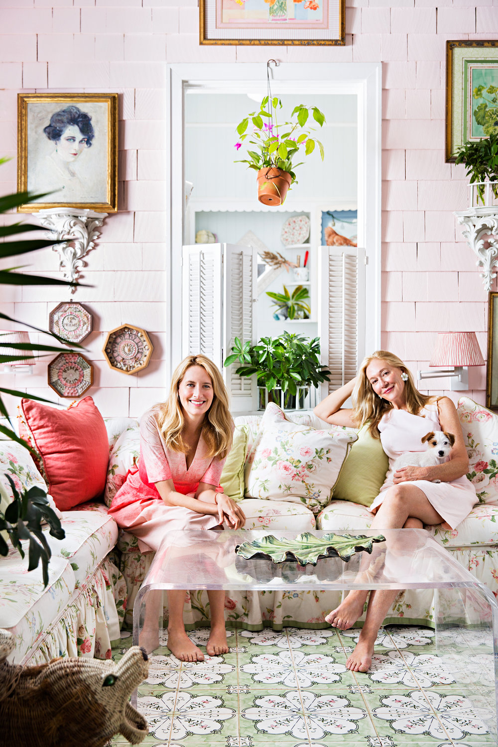 Celerie Kemble and Mimi McMackin | Architectural Digest