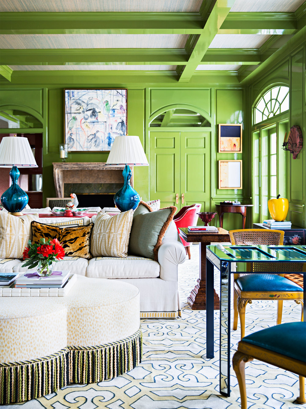 Interior Design by Celerie Kemble and Lindsey Herod | House Beautiful