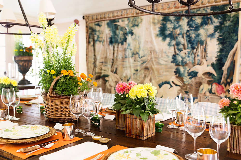 Interior Design by Charlotte Moss | Hamptons Cottages & Gardens