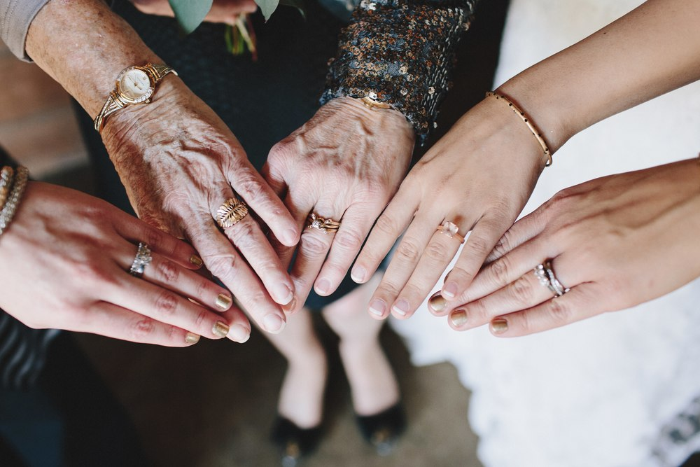 generational wedding rings
