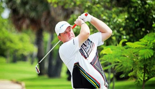 Scotland's Michael Moir will attempt to defend his Angkor Amateur Open title this weekend at the Angkor Golf Resort in Siem Reap. PHOTO SUPPLIED