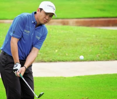 Cambodia's Ly Hong clinched the 2014 Liberty Cup in Siem reap yesterday. Photo Supplied